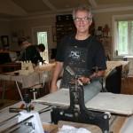 Dan Cautrell Printing Tribute Flags