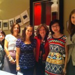 Volunteers at Tenth Anniversary with Mary Fetchet
